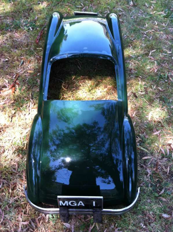 Mga Regalia Fiberglass 1 2 Scale Body Shell