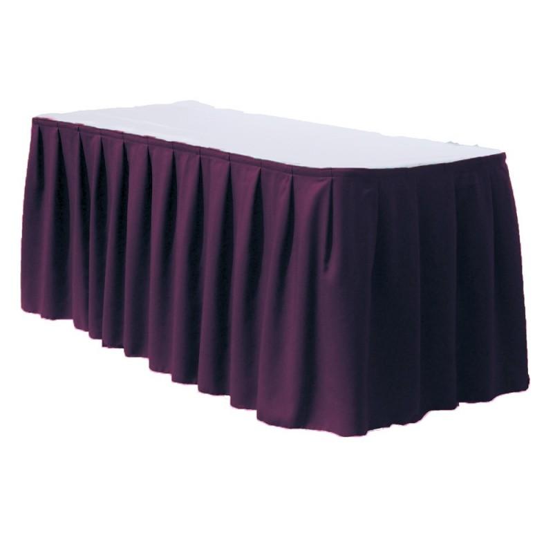 Table Skirt 17 Feet Polyester