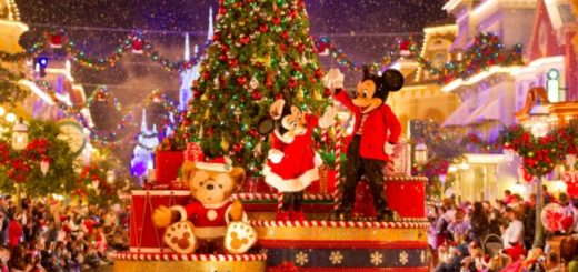 Christmas in Walt Disney World is Magical
