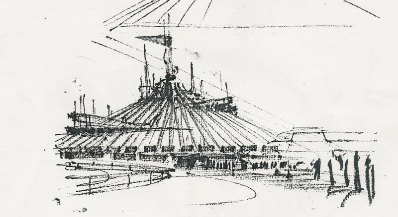 Space Mountain sketch