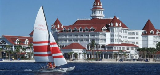 Sailing around Walt Disney World