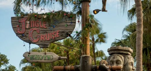 Jungle Cruise boat