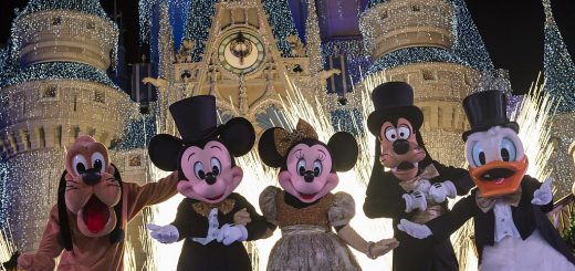 New Year's Eve at Disney World