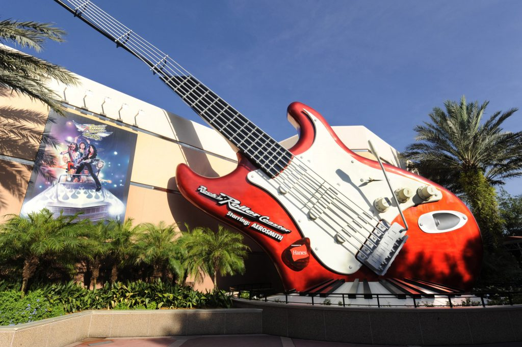 Rock N Roller Coaster Aerosmith Disney