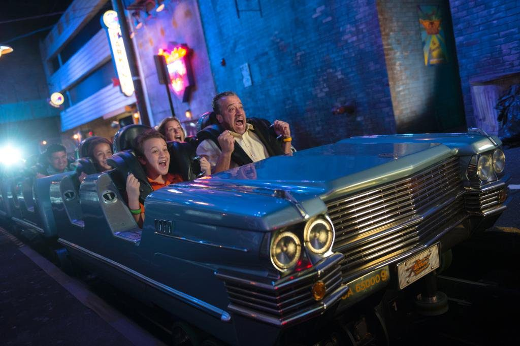 Aerosmith ride Disney