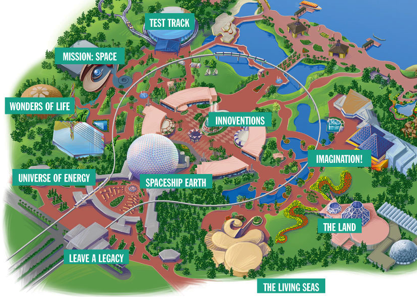 Future World map