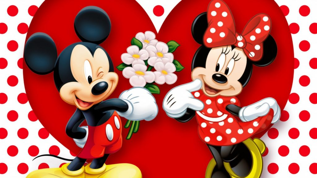 Mickey Minnie Valentine
