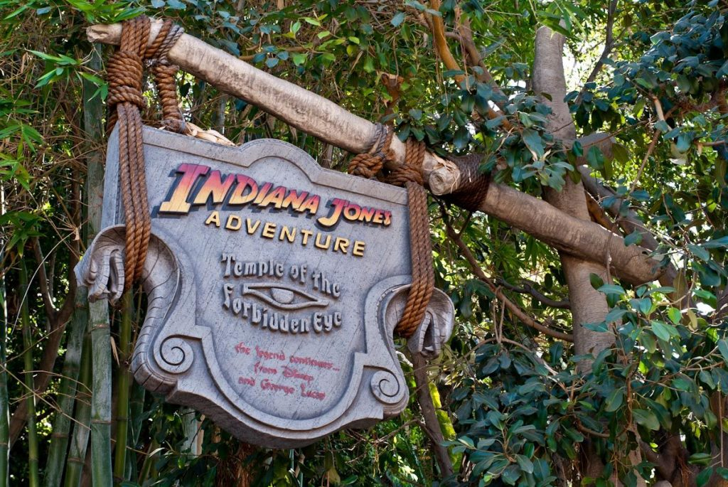 Indiana Jones Adventure Disneyland
