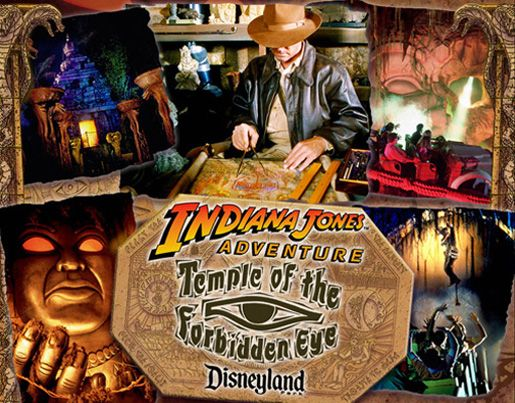 Indiana Jones Adventure Attraction Disneyland