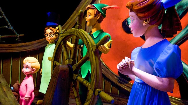 Fun Facts About Peter Pan's Flight - MickeyBlog com