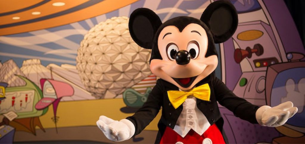 Mickey Mouse Epcot