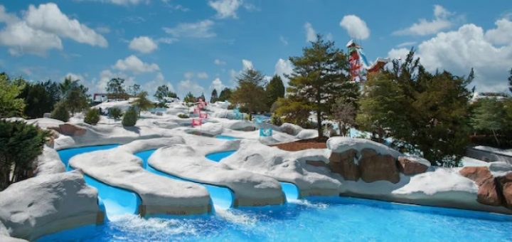 DIsney water parks face covering