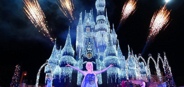 Walt Disney World Christmas.The Magic Of The Disney World Holiday Decorations