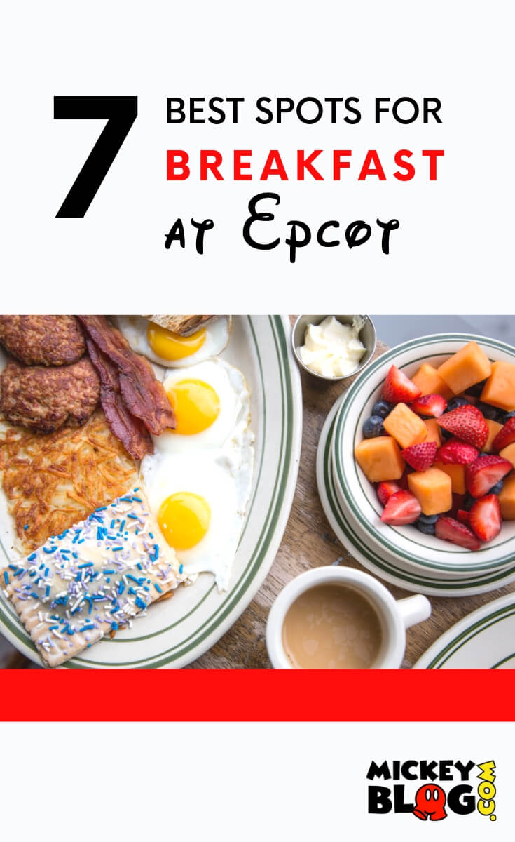 7 Favorite spots to grab breakfast at Epcot