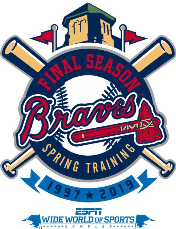 best cheap be3ec f540d Final Atlanta Braves Spring Training Season at Disney ...