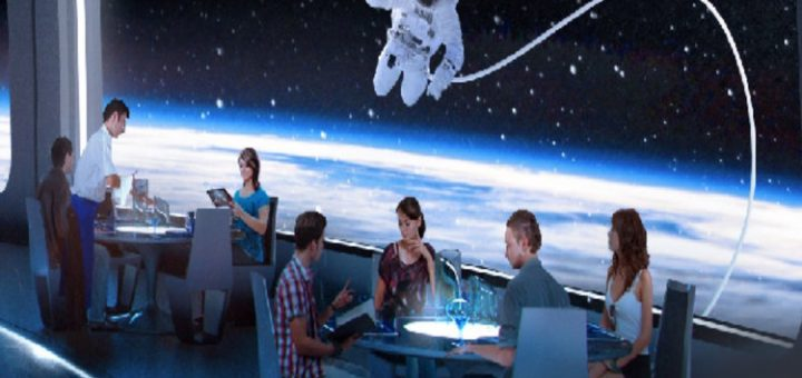 Epcot's New Space Restaurant