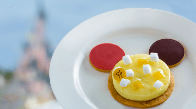 Mickey Zest Party Dessert at Disneyland Paris