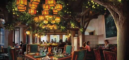 Concept Art for Storybook Dining