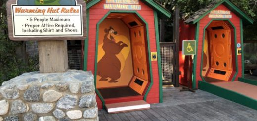 Humphrey the Bear Warming Huts