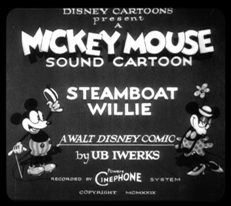 Steamboat Willie movie