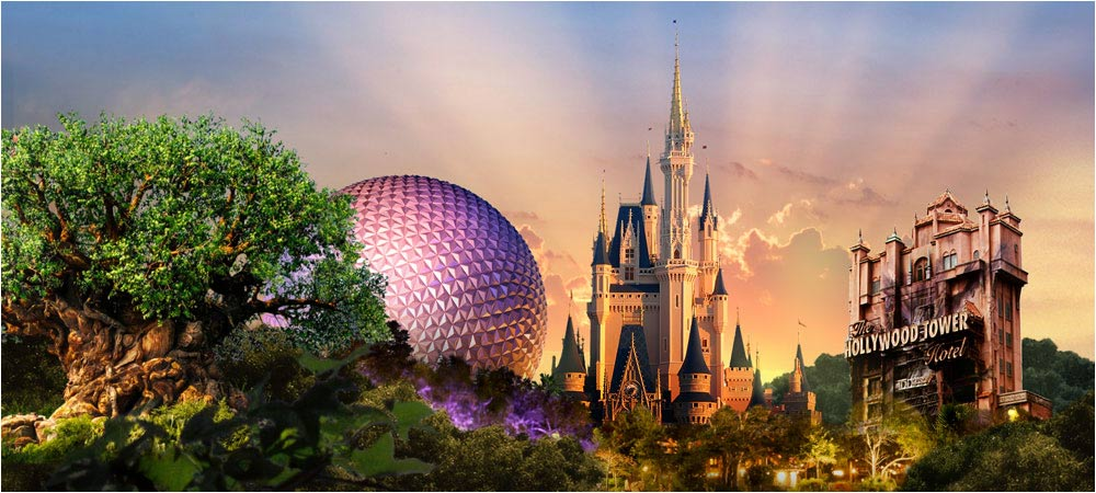 4 Disney World parks