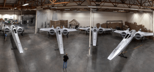 X-wing and TIE Fighters