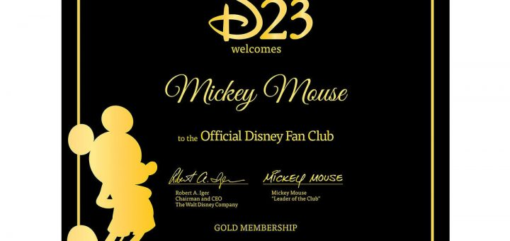 New Pricing Announced For D23 Gold and Gold Family Members