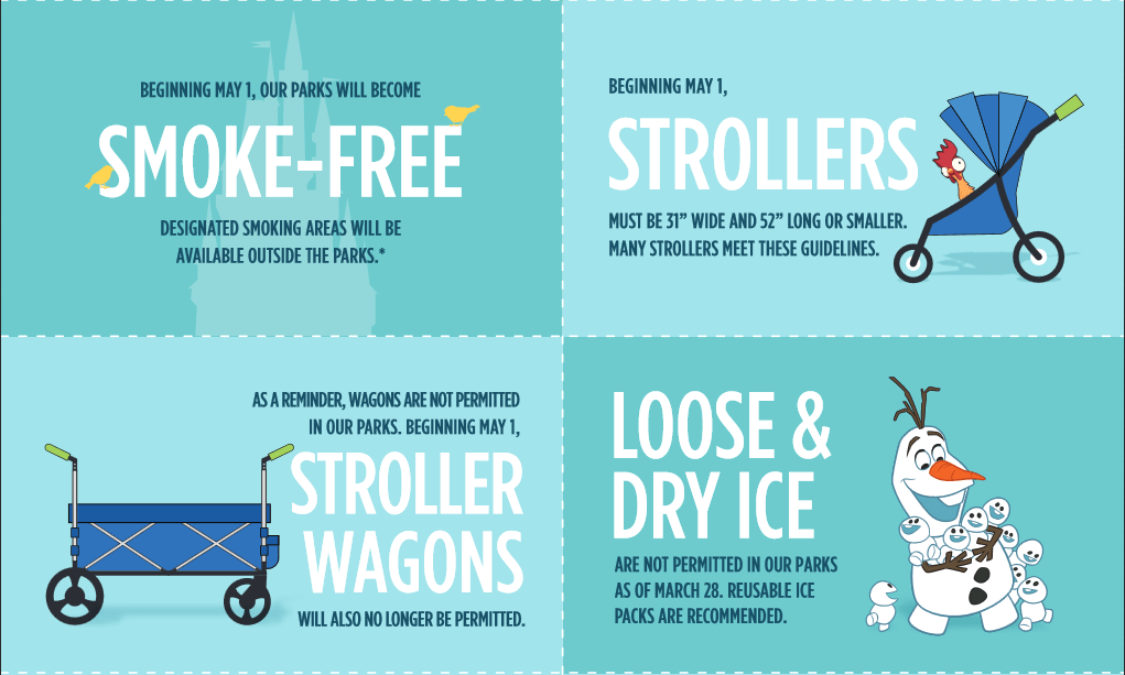 Ban Stroller Wagons and Smoking