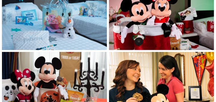 New In-Room Celebrations Available To Add To Walt Disney