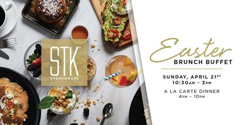 STK Easter Brunch Buffet
