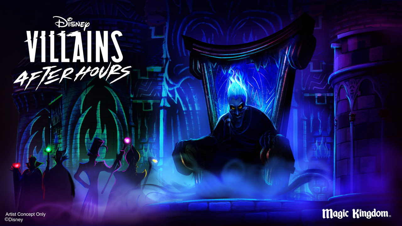 Disney Villains After Hours Tickets
