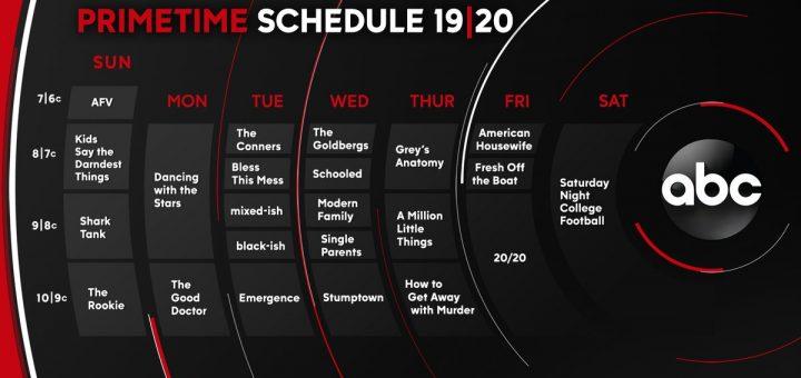 Abc Fall Premiere Dates 2020.Abc Fall Premiere Dates Announced For 2019 2020 Mickeyblog Com