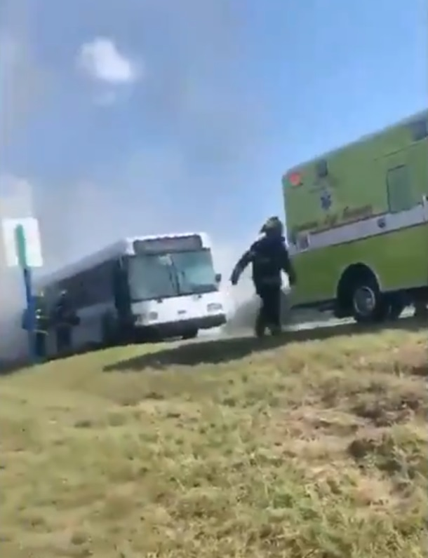 Disney bus fire