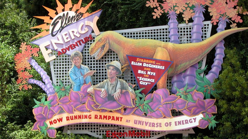 Lost Epcot attractions