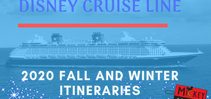 Disney Cruise Line Fall 2020
