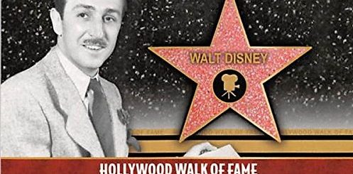 Disney Star Hollywood Walk of Fame