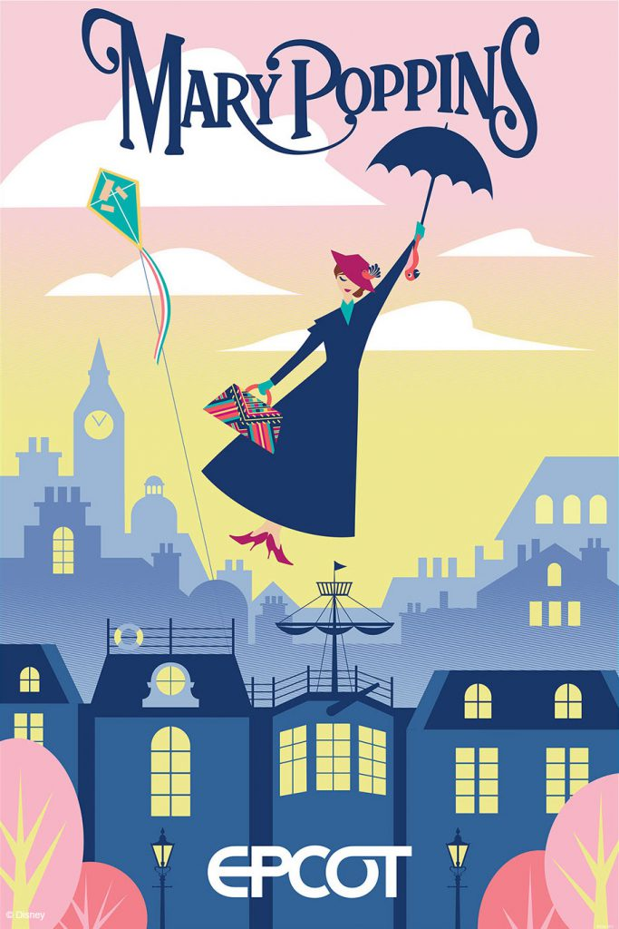 Mary Poppins ride