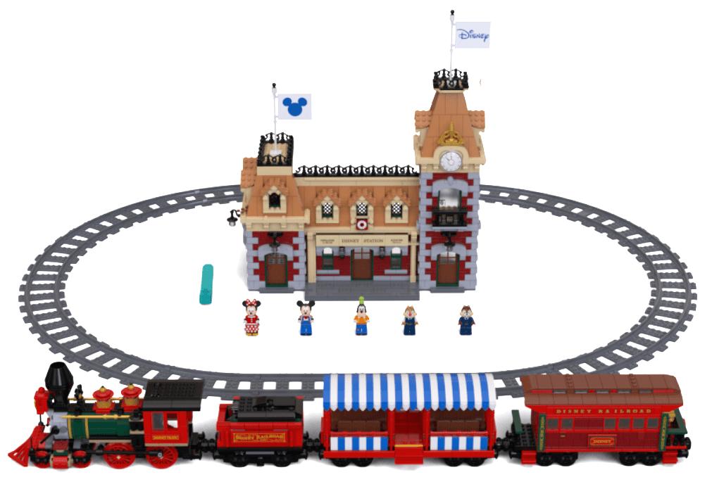 Lego Halloween Sets 2019.Iconic Lego Disney Train And Station Announced Mickeyblog Com