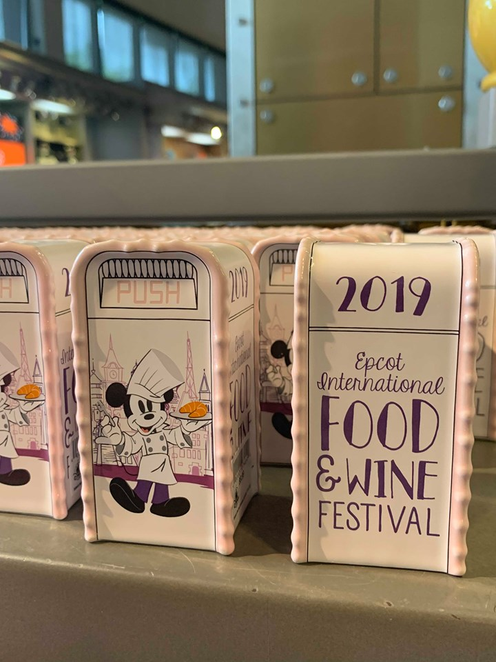 Food and Wine Festival Merch