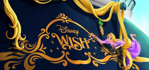 Disney Wish sail