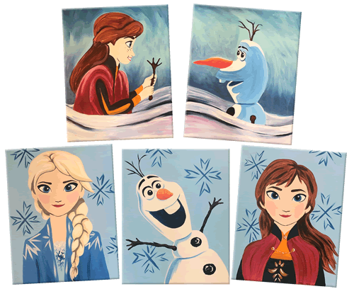 Frozen 2 Painting