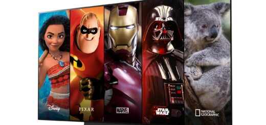 Disney+ LG Smart TV
