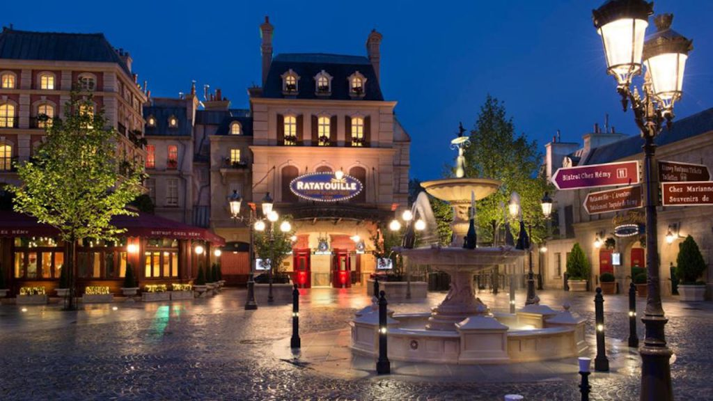 Disneyland Paris July