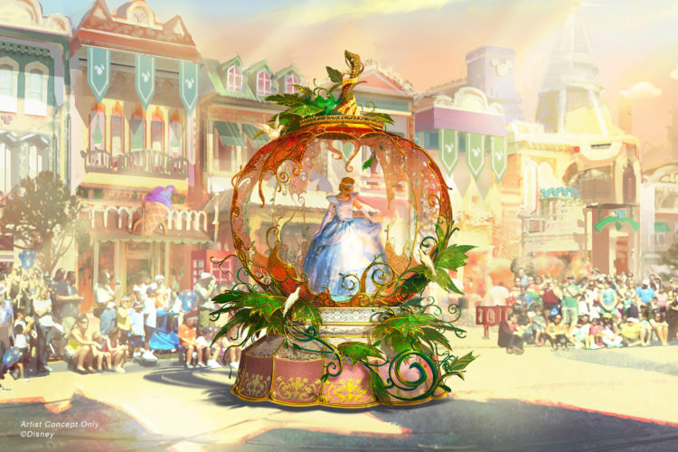 """Magic Happens"" parade dining package"