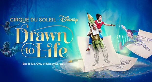 Cirque Drawn to Life
