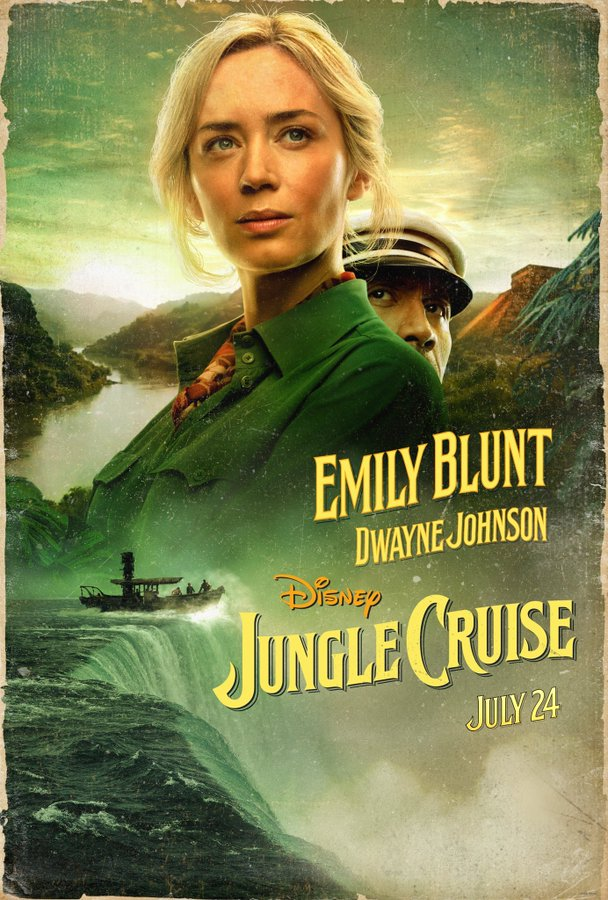 Jungle Cruise Poster War