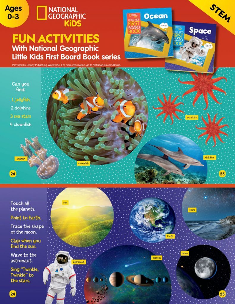 Disney Learning & Activity Sheets