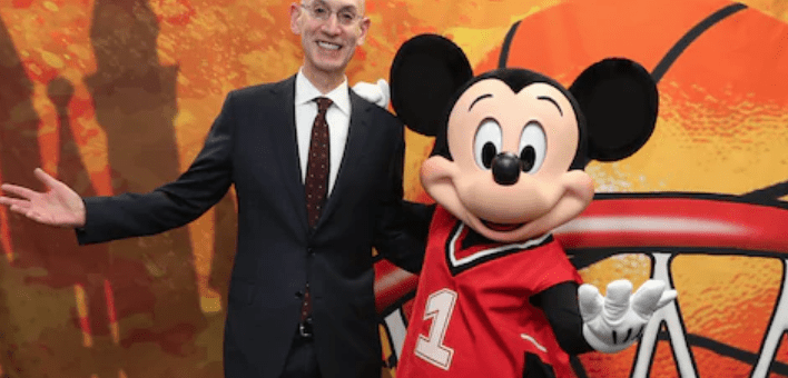 Mckey Mouse, Black Lives Matter Disney NBA
