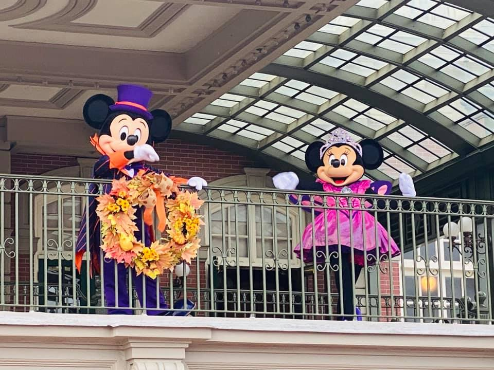 Halloween Magic Kingdom Welcome Show