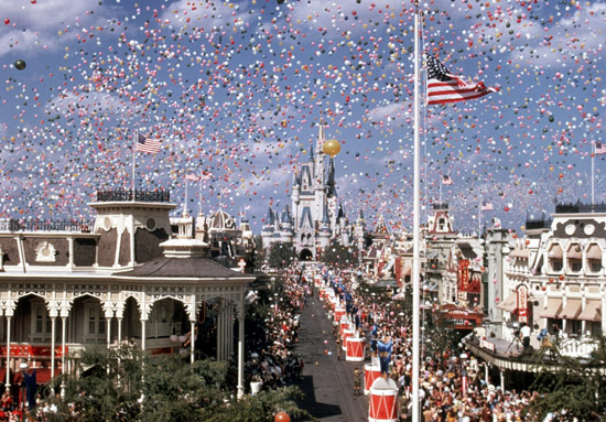 Magic Kingdom Opening Day